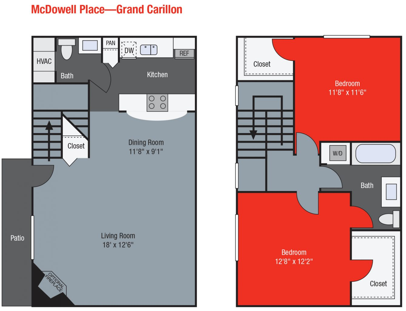 Apartments For Rent TGM McDowell Place - Grand Carillon