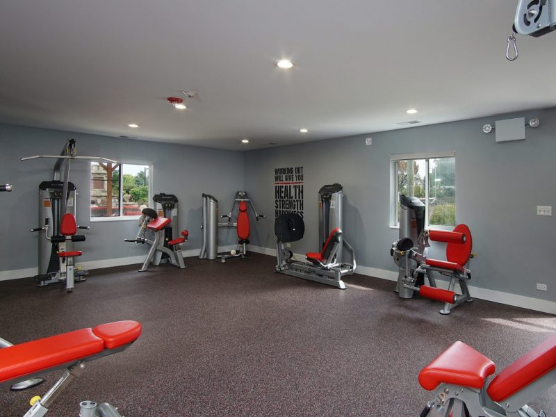 TGM Mcdowell Place Apartments Fitness Gym 3