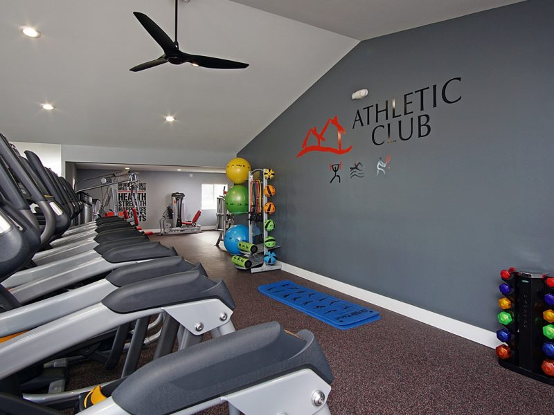 TGM Mcdowell Place Apartments Fitness Gym 5
