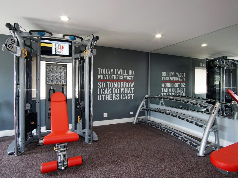 TGM Mcdowell Place Apartments Fitness Gym 9
