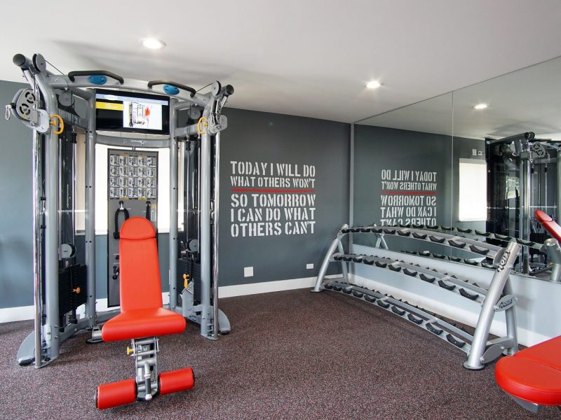 TGM Mcdowell Place Apartments Fitness Gym