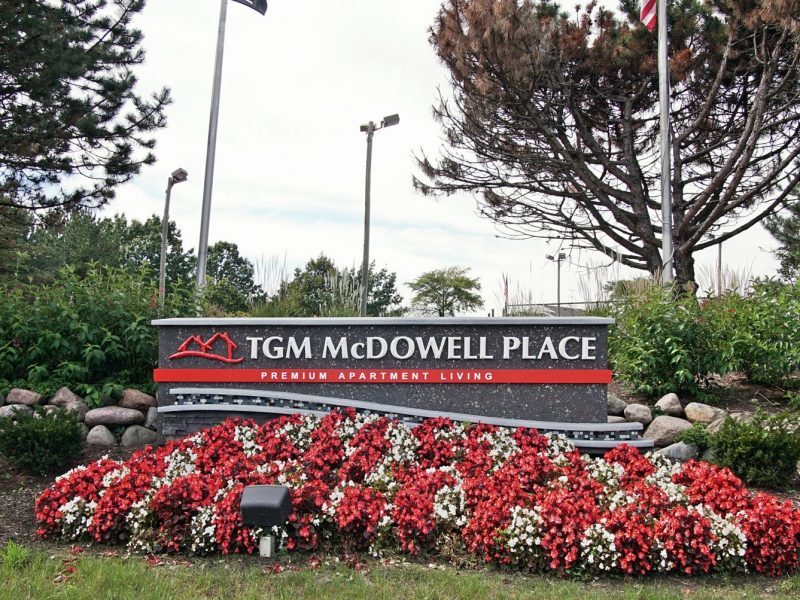 TGM Mcdowell Place Apartments Monument 3