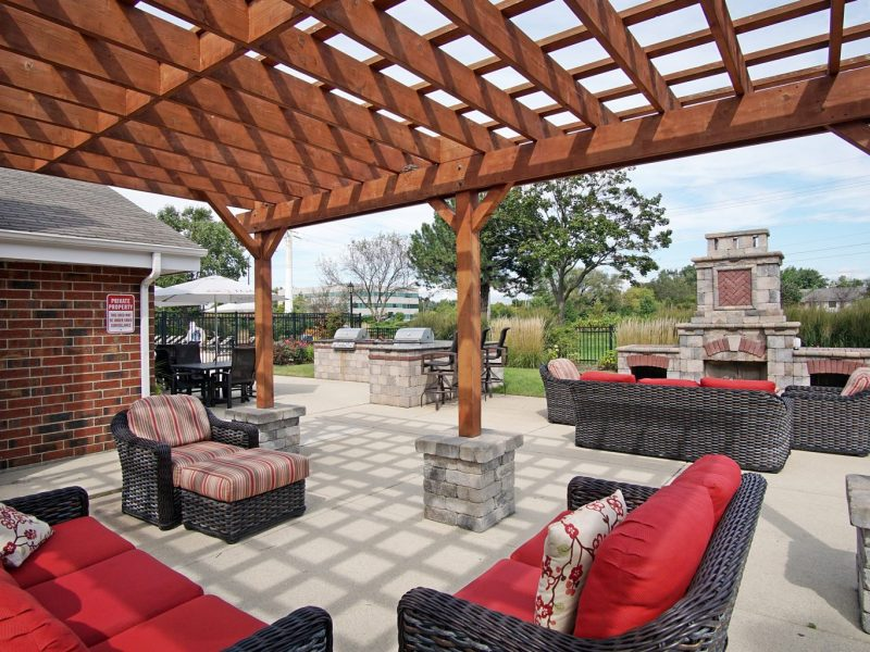 TGM Mcdowell Place Apartments Outdoor Lounge