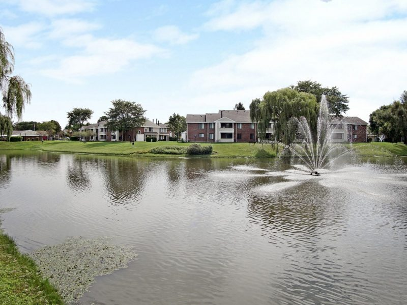 TGM Mcdowell Place Apartments Pond View 3