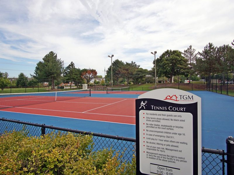 TGM Mcdowell Place Apartments Tennis Court 2