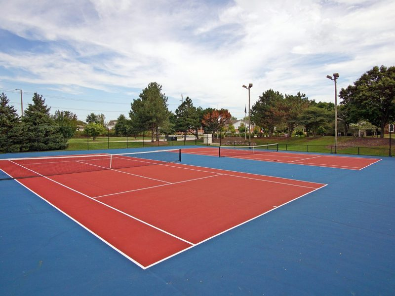 TGM Mcdowell Place Apartments Tennis Court 3